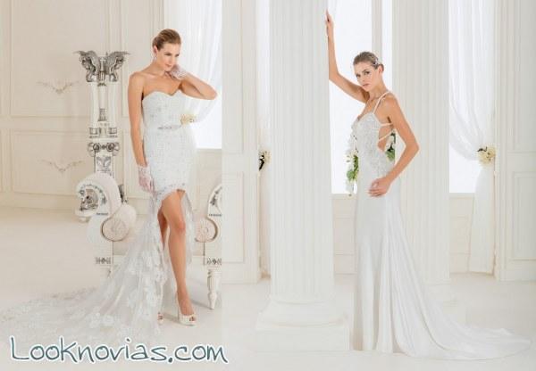 Los más atrevidos vestidos de la firma Impero Sposa
