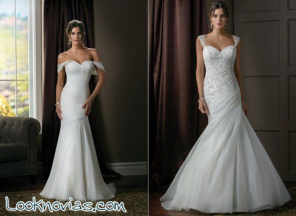 Jasmine Bridal y sus vestidos tan brillantes