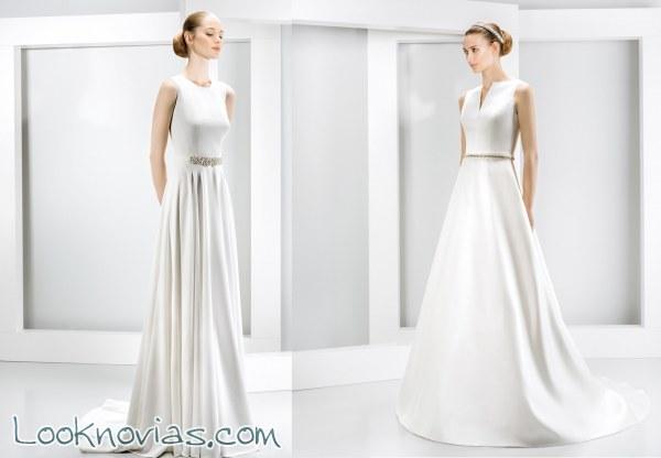 Selección de vestidos de corte minimalista