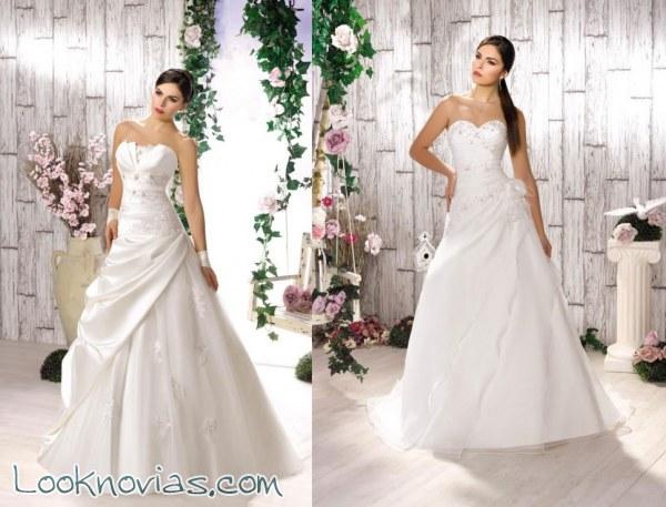Kelly Collector y sus nuevos vestidos de novia