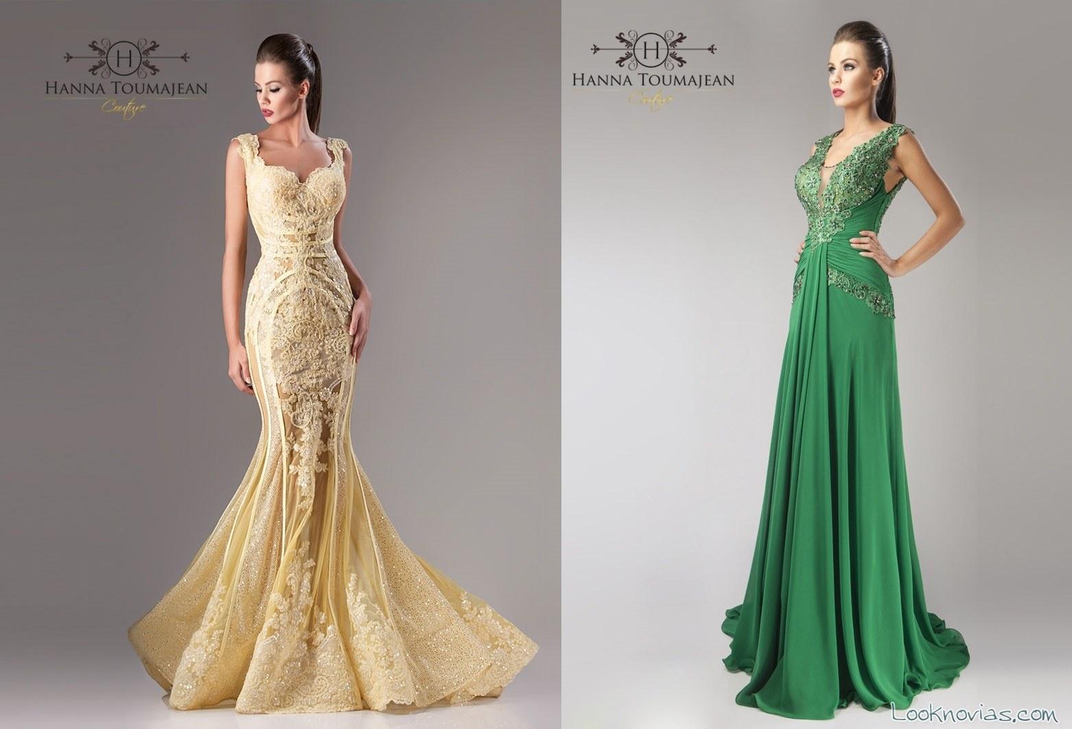 vestidos largos de alta costura
