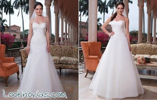 Vestidos bonitos, elegantes y con mucho corazón