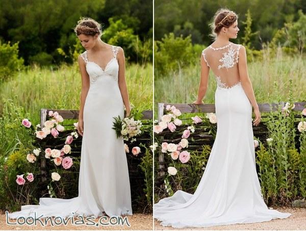 Vestidos de novia naturales