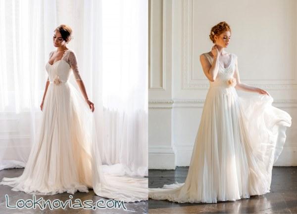 Los vestidos más vaporosos de Naomi Neoh