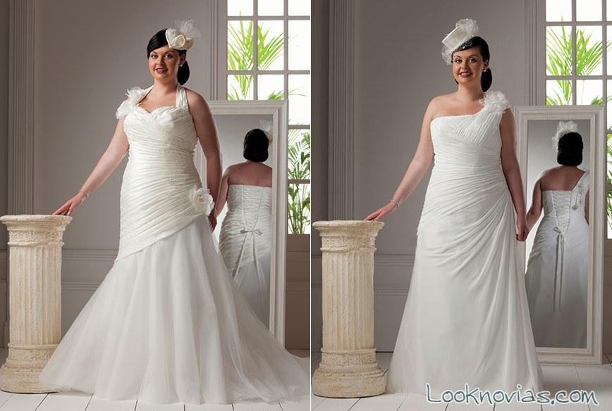 vestidos novia plus peter trends