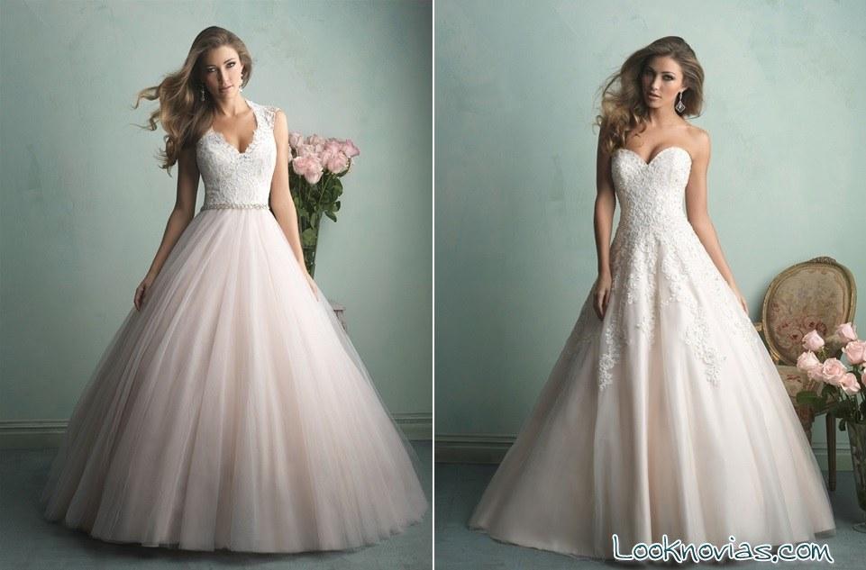 peinados de novia para vestido corte princesa – vestidos de fiesta