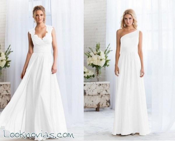 Los vestidos más sencillos de Jasmine Bridal