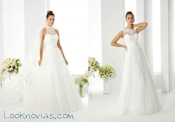 Increíbles trajes para las novias más románticas