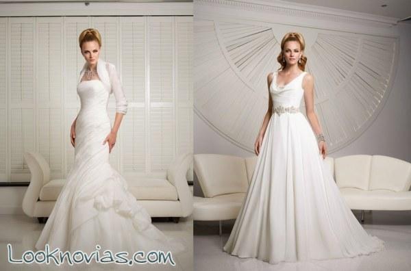 Más deslumbrantes vestidos de novia Victoria Jane