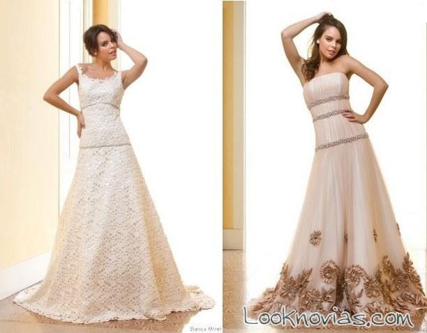 vestidos originales de blanca miret
