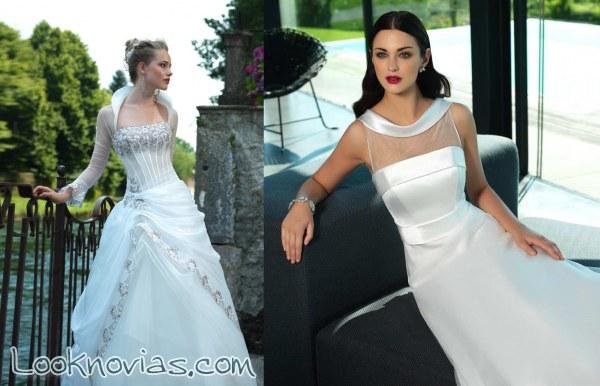 Vestidos para novias originales y modernas de Valentini Spose