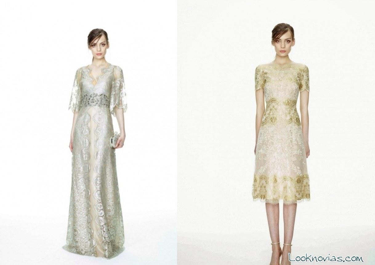 vestidos para boda Marchesa