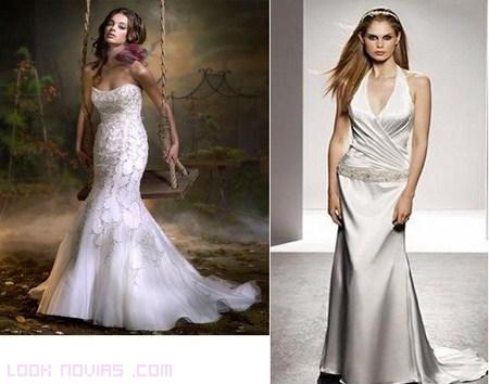 Vestidos ideales para novias bajitas