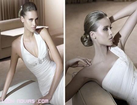 novias con vestidos elegantes y modernos