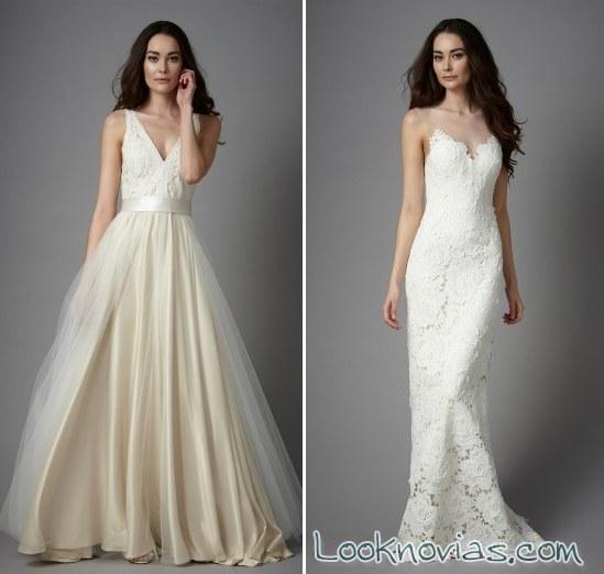 vestidos para novias muy sencillas