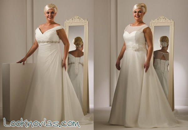 Big Beautiful Brides es la colección de Peter Trends