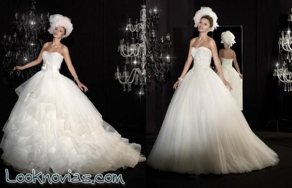 Selección de vestidos para novias muy elegantes
