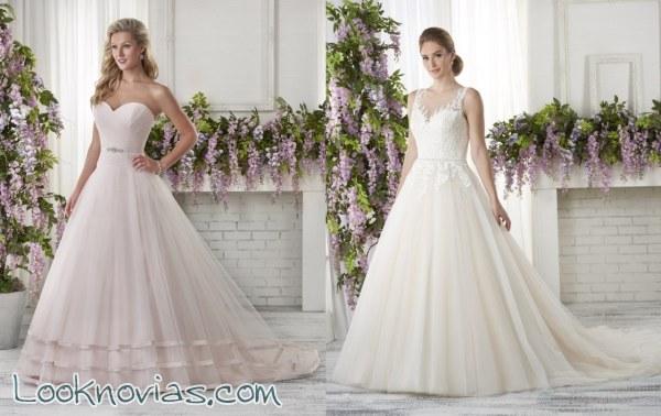La sencillez de los vestidos Bonny Bridal