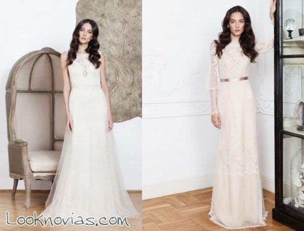 5 vestidos de novia de corte bohemio