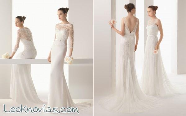 4 vestidos Rosa Clará colección soft
