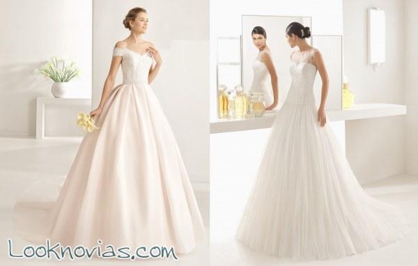 nuevos vestidos en la colección two de rosa clará