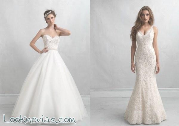 Vestidos únicos para novias muy exigentes