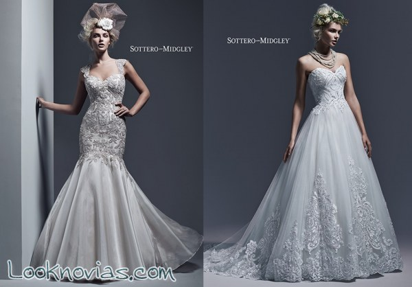 Vestidos para otoño por Sottero and Midgley