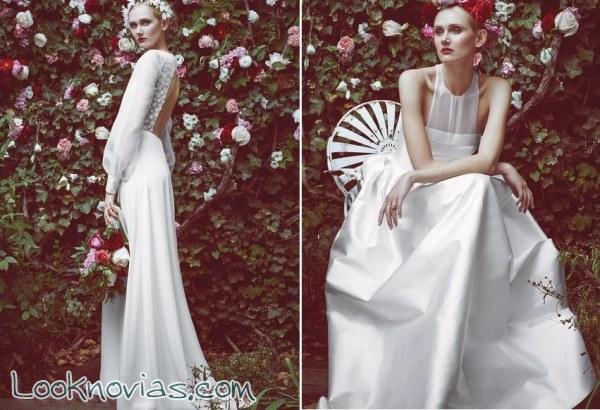 4 vestidos diferentes de Stone Fox Bride