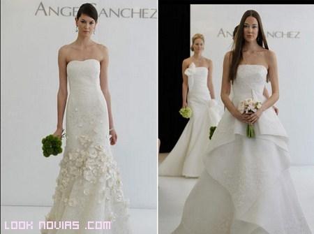 Para novias elegantes y sencillas: Ángel Sánchez