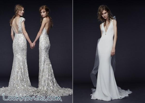 Vestidos Vera Wang para otoño 2015