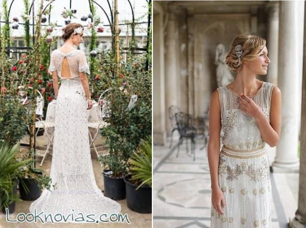 Vestidos de novia retro por Vicky Rowe