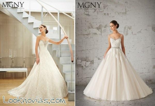 Nuevo volumen de vestidos por MGNY