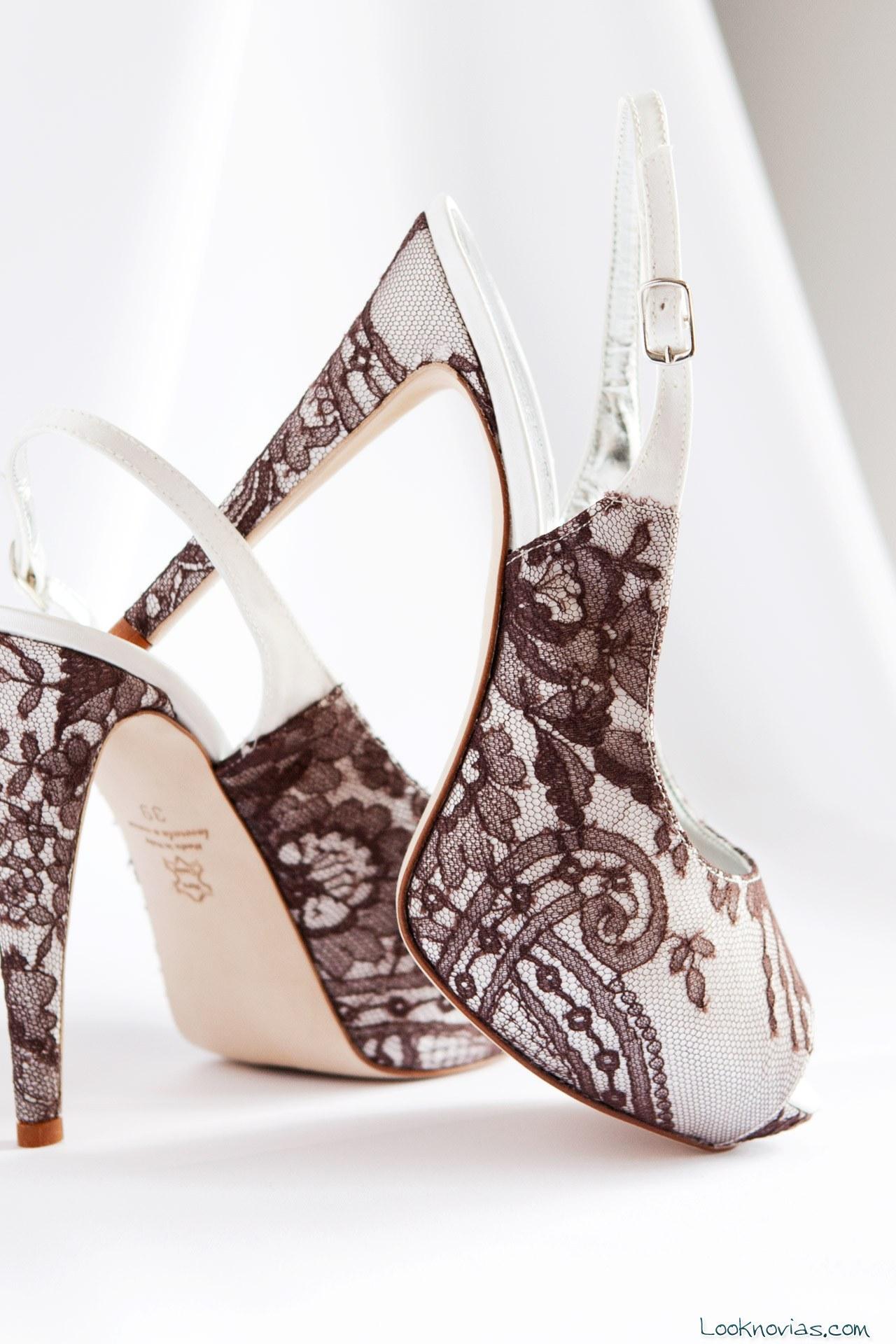 zapatos con plataforma para novias