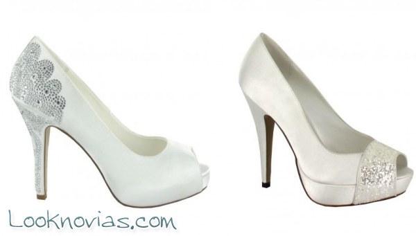 Zapatos de novia Menbur, ¡modernos y originales!