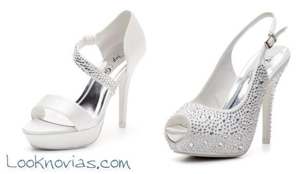 Zapatos para novia modernos y muy elegantes