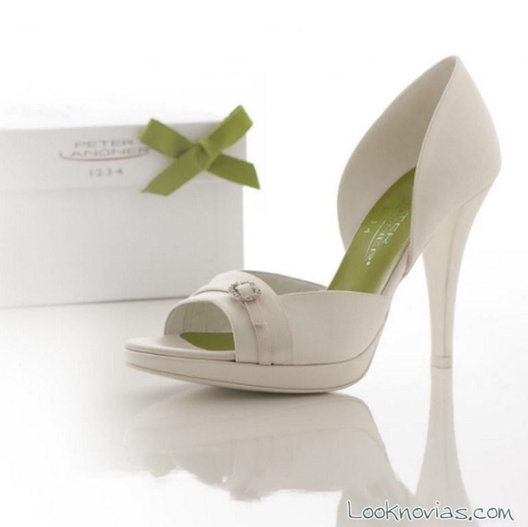 zapatos hebilla novias peter langner